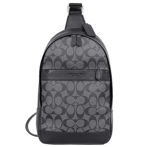 Coach Men s Leather Shoulder Crossbody Bag F54787 ea660643c06ca